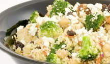 "Spiced Broccoli ""Couscous"" Salad"