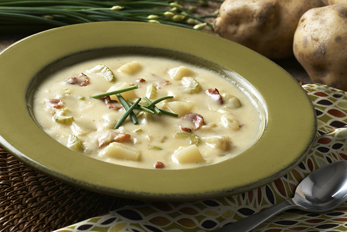 Baked Potato Soup with Bacon Recipe   Co+op, stronger together