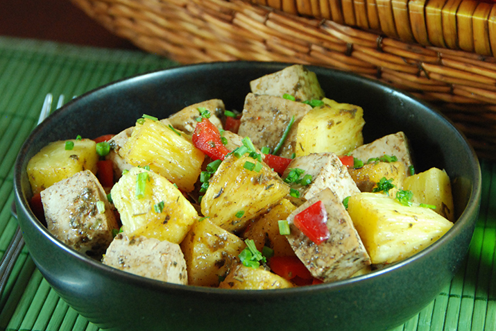 Jerk Tofu with Pineapple Recipe | Co+op, stronger together