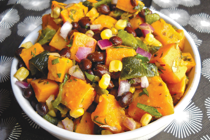 Chipotle Chicken and Sweet Potatoes Recipe