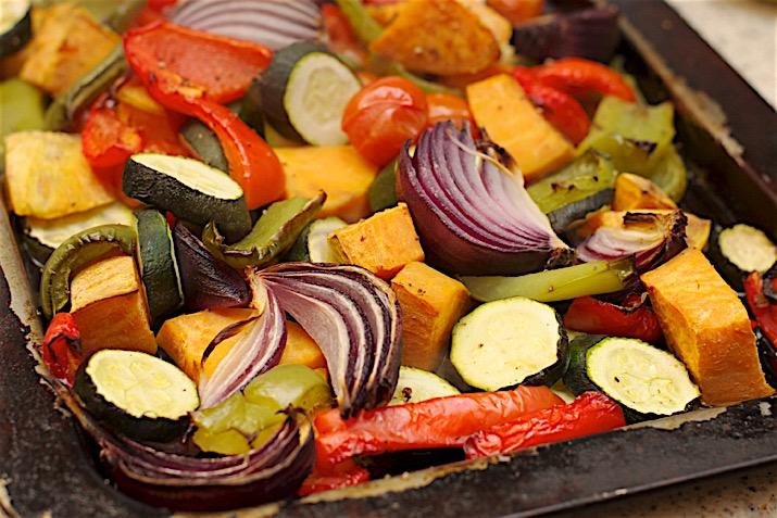 Freshly Harvested Mediterranean Vegetables Stock Photo, Picture ...