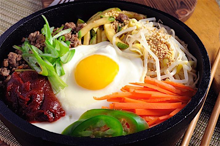 Asian company food