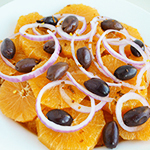 Orange Mediterranean Salad