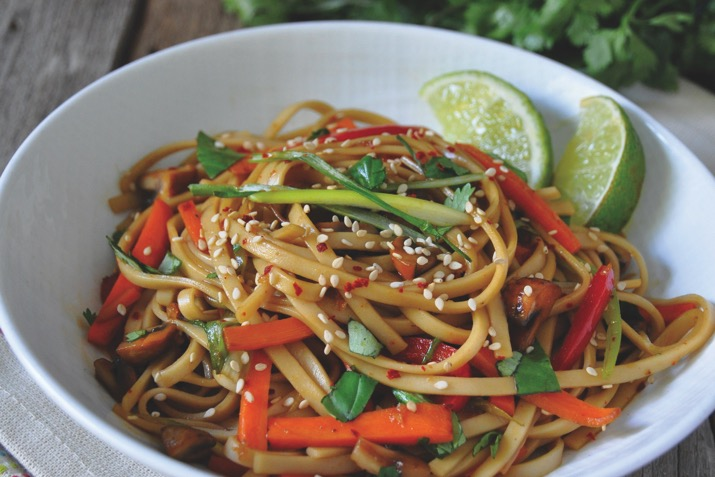 Spicy Thai Noodles Recipe Co Op Welcome To The Table