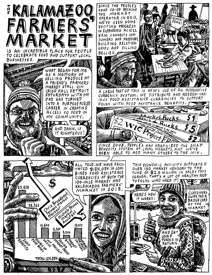 Kalamazoo Farmers Market page1