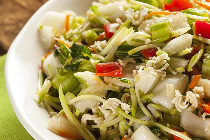 bok choy salad with ramen recipe co op stronger together. Black Bedroom Furniture Sets. Home Design Ideas